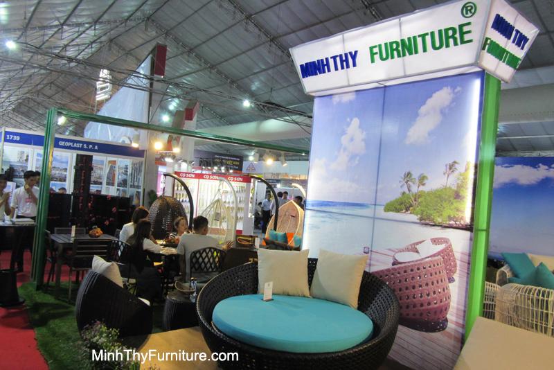 Minh Thy Furniture tham gia triển lãm VietBuild 6/2016